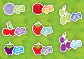 Etichette di frutta
