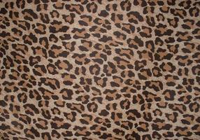 Leopard Print Background Vector gratuito