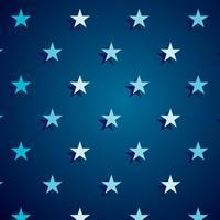 Vettore del fondo della stella blu scuro