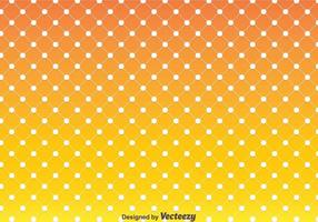 Arancione Polka Dot Pattern Vector