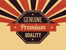 Illustrazione di qualità premium retrò stile vintage