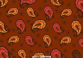 Sfondo marrone paisley