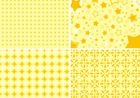 Vettore libero del fondo di forme gialle