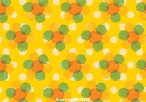 Dot Pattern Vector giallo