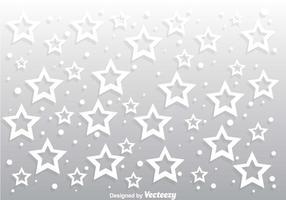 vettore di sfondo grigio stella