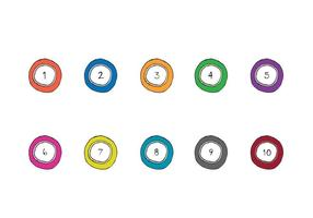 Lotto Balls Vector Series