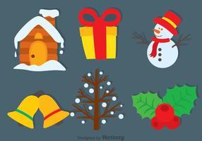 Icone vettoriali di Natale