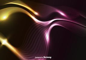 Vettore di onda astratta