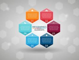 Infografica gratis elementi vettoriali