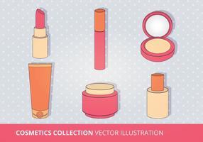 Collezione di cosmetici