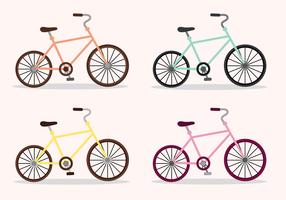 Vettore gratuito di biciclette