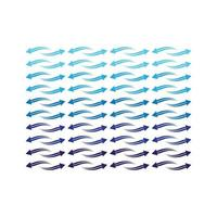 modello d'onda delle frecce