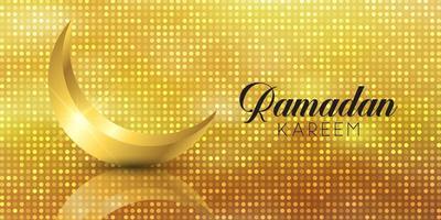 banner di Ramadan Kareem vettore