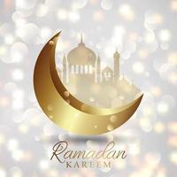 Ramadan Kareem sfondo vettore