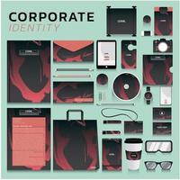 set di identità aziendale
