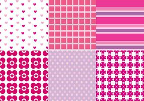 Vettori modello rosa