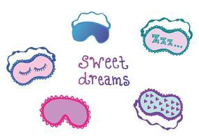 serie di vettore di maschera di sonno libero
