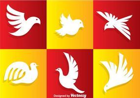 Uccello bianco logo