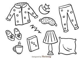 icone di schizzo del sonno