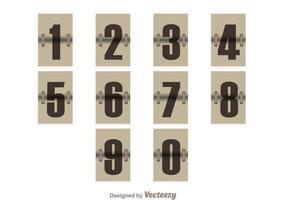 Contatore di numeri d'epoca