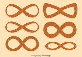 icone di legno infinito