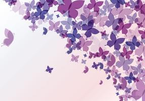 Sfondo astratto farfalla vettore