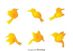 Icone di uccelli volanti
