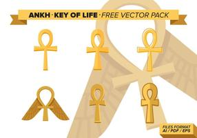 Pacchetto di Ankh Key Of Life Free Vector