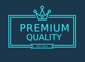 Vector Line Crown Logo