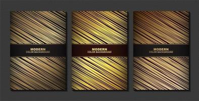copertina minimale in set oro
