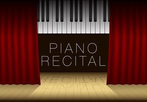 Modello di recital pianoforte