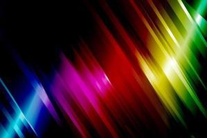 arcobaleno angolato linea di fondo vettore