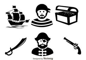 icone nere del cacciatore di tesori