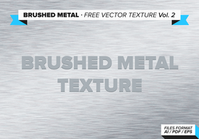 Vol. Free Metal Texture Vector spazzolato 2