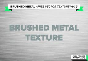 Vol. Free Metal Texture Vector spazzolato 3