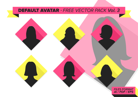 Avatar predefinito Pacchetto vettoriale gratuito Vol. 3