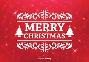 Illustrazione di auguri di Natale vettore