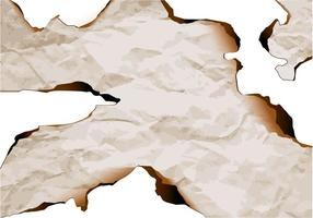 Vettore bordo carta bruciata 3