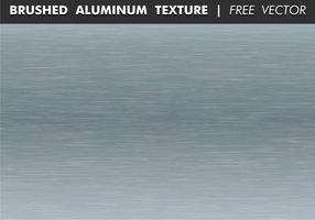 Vettore libero di struttura di alluminio spazzolato