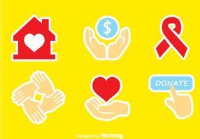 Donare le icone dei colori