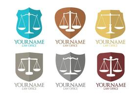Vettori del logo dello studio legale