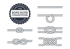 Collezioni di nodi a corda vettore
