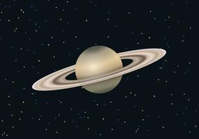 Saturn Planet Vector gratuito
