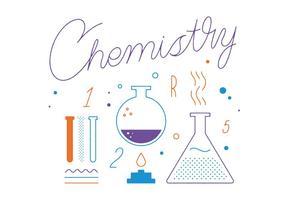 Vettore di chimica gratis