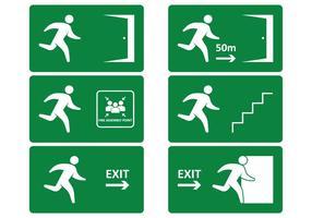 Segno di uscita di emergenza