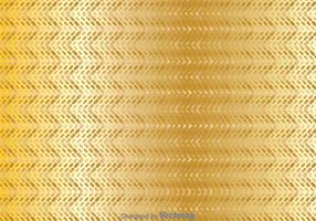 Sfondo geometrico di zig zag oro vettore