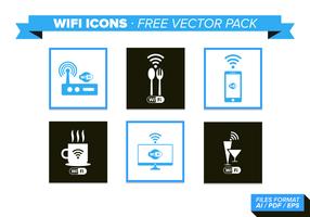 Pacchetto di icone vettoriali gratis di WiFi
