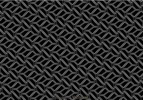 Retro modello in bianco e nero