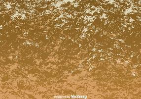 Vernice astratta incrinata sul muro marrone vettore