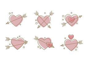Icone vettoriali # 3 di cuore libero